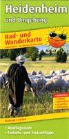 Rad- und Wanderkarte für 5,99 Euro zzgl. Versandkosten